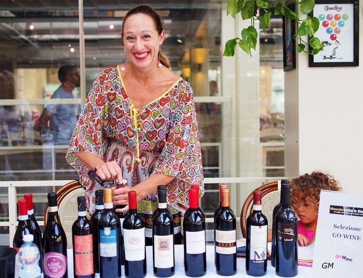 Marta Romanelli, Go Wine member