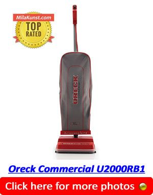 Oreck U2000RB1 Upright - Best Commercial Vacuum Cleaner
