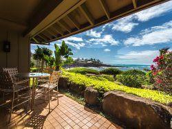 Whalers Cove 212 2 bedroom / 2 bathroom Oceanfront Kauai Condo Poipu Kauai  Kauai Condo Rentals | Kauai Vacation Homes | Kauai Real Estate