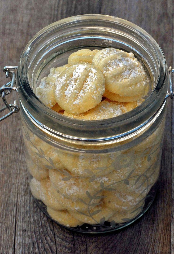 Schneeflöckchen - diese Kekse werden gern in Nordeutschland gegessen