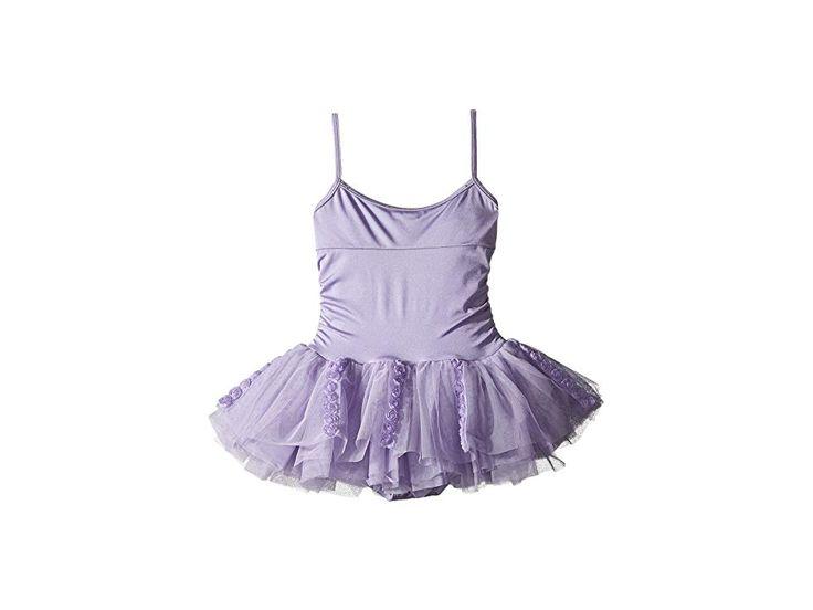 Bloch Kids Rosette Tutu Dress (Toddler/ Little Kids/Big Kids) Girl's Dress Lilac