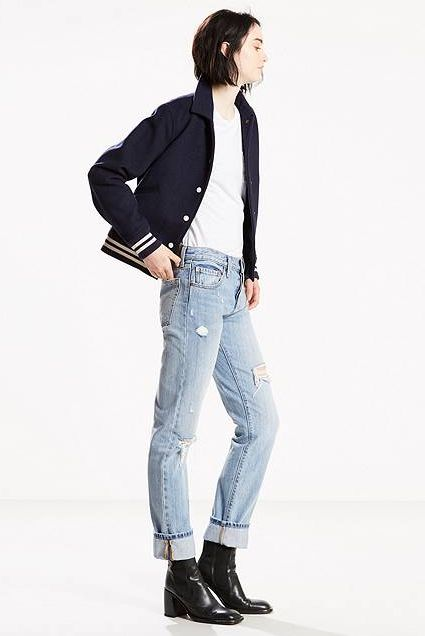Levis - 501 Jeans - Denim Rebel