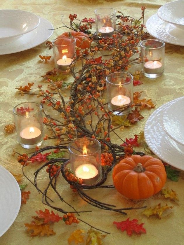 Best 25 Fall Table Centerpieces Ideas On Pinterest