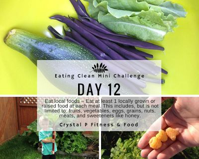Day 12 - Eating Clean Mini Challenge