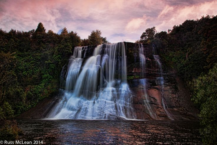 """""""Papakorito Falls"""" - taken in the Te Urewera National Park on the East Coast of the North Island of NZ."""