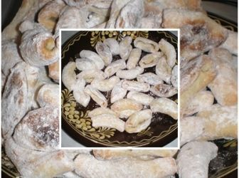 Gesztenyés hókifli recept: Jön a karácsony, ez a kedvenc sütim. Minden évben csinálom, egyre nagyobb mennyiségben. http://aprosef.hu/hokifli