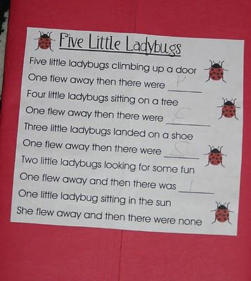 for our spring bug unit! Use on SMART to circle rhyming words.