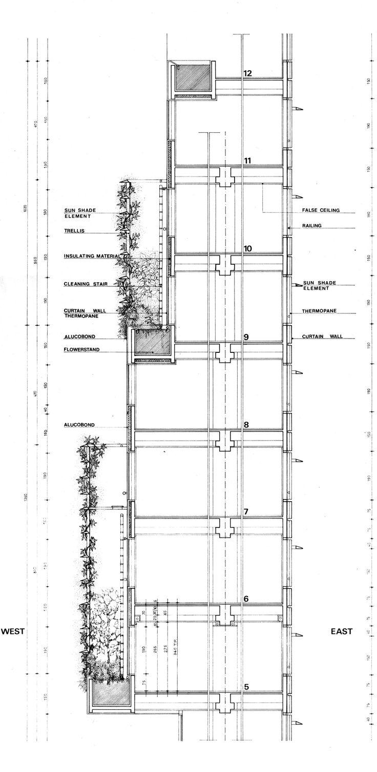 Imagen 31 de 37 de la galería de Edificio Consorcio Santiago / Enrique Browne + Borja Huidobro. Detalle Doble Piel Vegetal 2