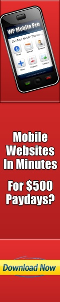 The easiest way to make your website mobile friendly.  You can also provide a great service for others that want there website converted.
