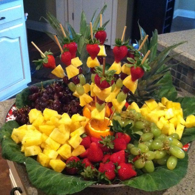 Wedding Reception Food Trays: Bridal Shower Fruit Ideas - Google Search