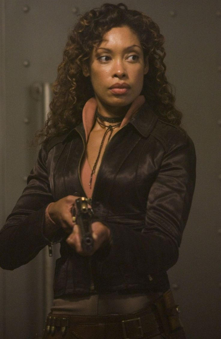 gina torres | Gina Torres Met Laurence Fishburne While Filming The Matrix Reloaded ...