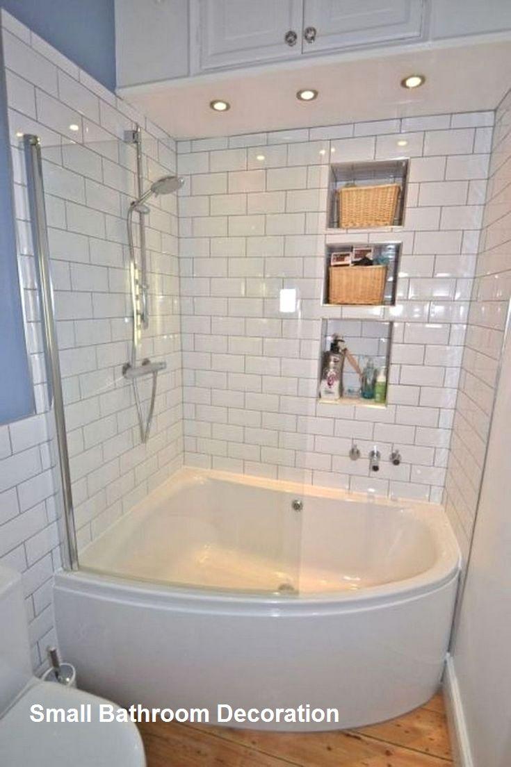 Cozy Small Bathroom Decor Ideas In 2020 Corner Tub Shower Corner Tub Shower Combo Bathroom Remodel Shower
