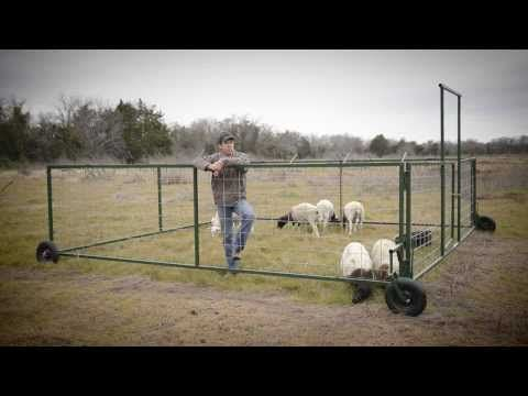 Sheep Tractor Company - YouTube. I want one if I get sheep, or other grazing livestock, looks awesome