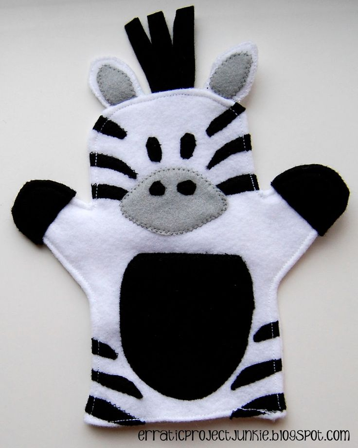 If you've been here for a little while, you'll remember that I made these hand puppets  for Miss A's 3rd birthday...      At that point...