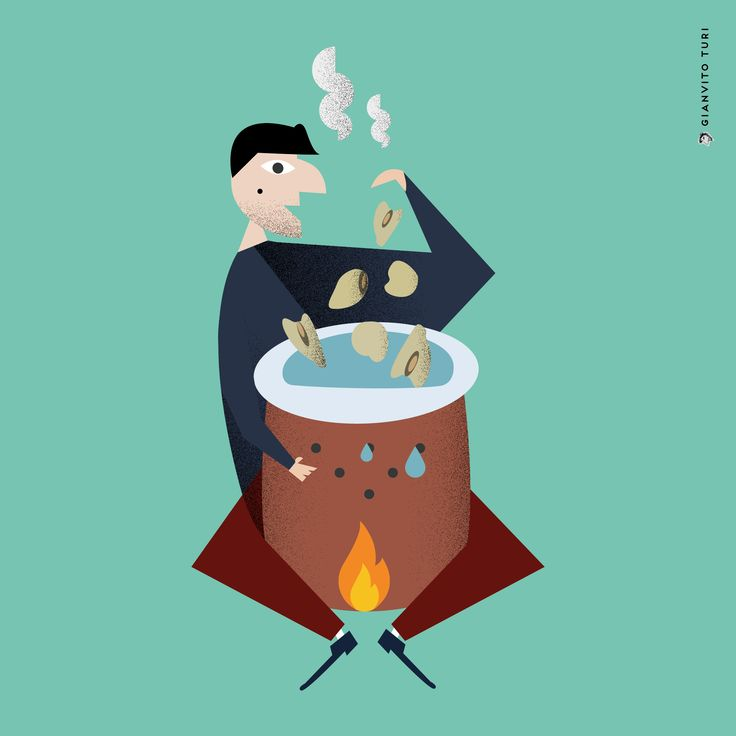 Illustrazione per Italian Tools. 20 regioni / 20 oggetti / 20 illustrazioni / MOLISE / Contenitore per la cottura delle cicerchie. #illustration #illustrator #design #legume #pentola #Molise #regione #pot #Italy #foodart #inspiration #drawings #grapichdesign #visualart