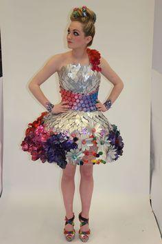 Resultado de imagen para recycled cd clothes