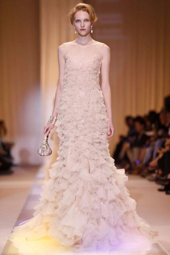 GIORGIO ARMANI PRIVÉ Haute couture Parigi - autunno inverno 2014
