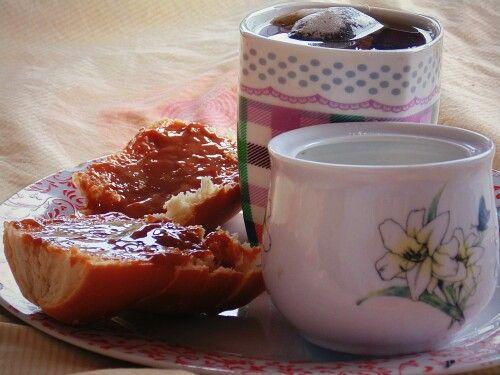 Desayuno. Mañana. Fotografia de los placeres de la vida ✌