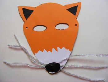 17 best images about classroom fantastic mr fox on for Fantastic mr fox mask template