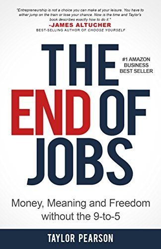 21 best book coversnonfictionbusiness images on pinterest book taylor pearson the end of jobs money meaning and freedom without the fandeluxe Image collections