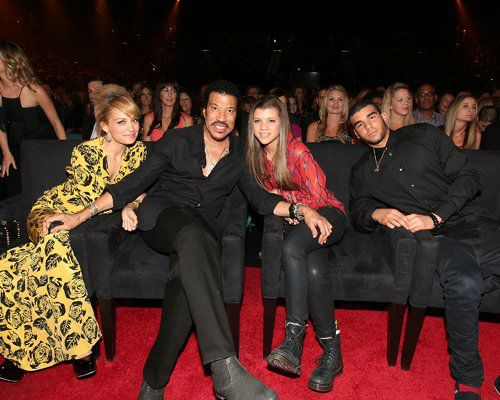 Lionel Ritchie's beautiful children