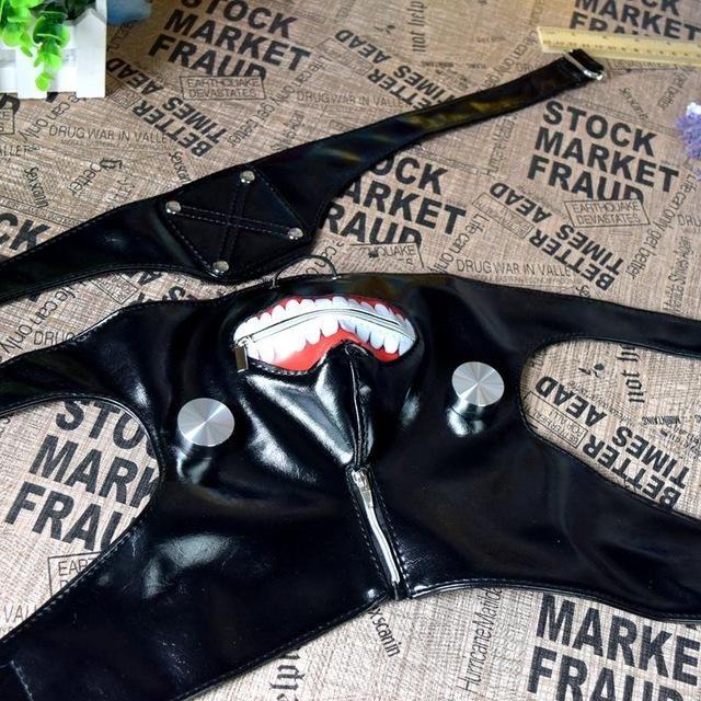 Tokyo Ghoul Kaneki Ken Cosplay Mask Prop Costume
