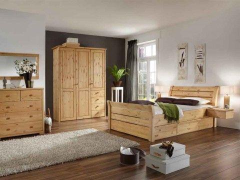 Łóżko sosnowe Majestic 200