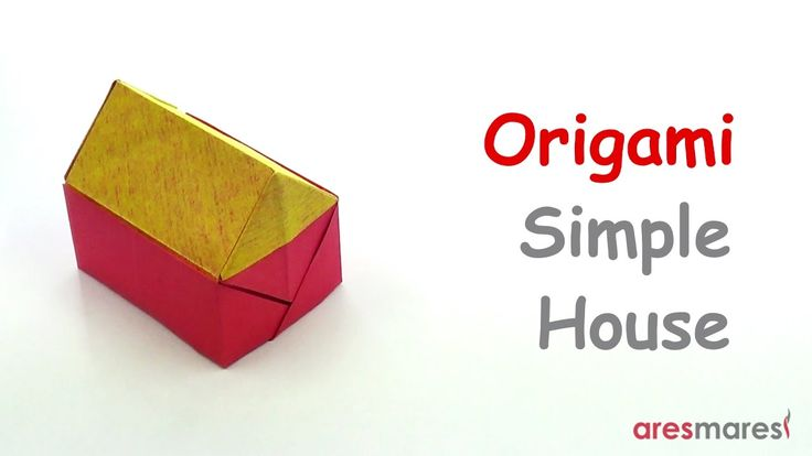 Origami Simple House (easy - single sheet) Is it possible for home to be a person and not a place? #origami #unitorigami #howtomake #handmade #colorful #origamiart #diy #doityourself #paper #papercraft #handcraft #paperfolding #paperfold #paperart #papiroflexia #origamifolding #instaorigami #interior #instapaper #craft #crafts #creative #hobby #оригами #折り紙 #ユニット折り紙 #ハンドメイド #カラフル #종이접기 #اوريغامي