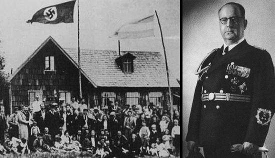 Colegio Alemán Primo Capraro. Escuela argentina alineada con el nazismo (década de 1930)   y el embajador nazi en Argentina barón Von Thermann.