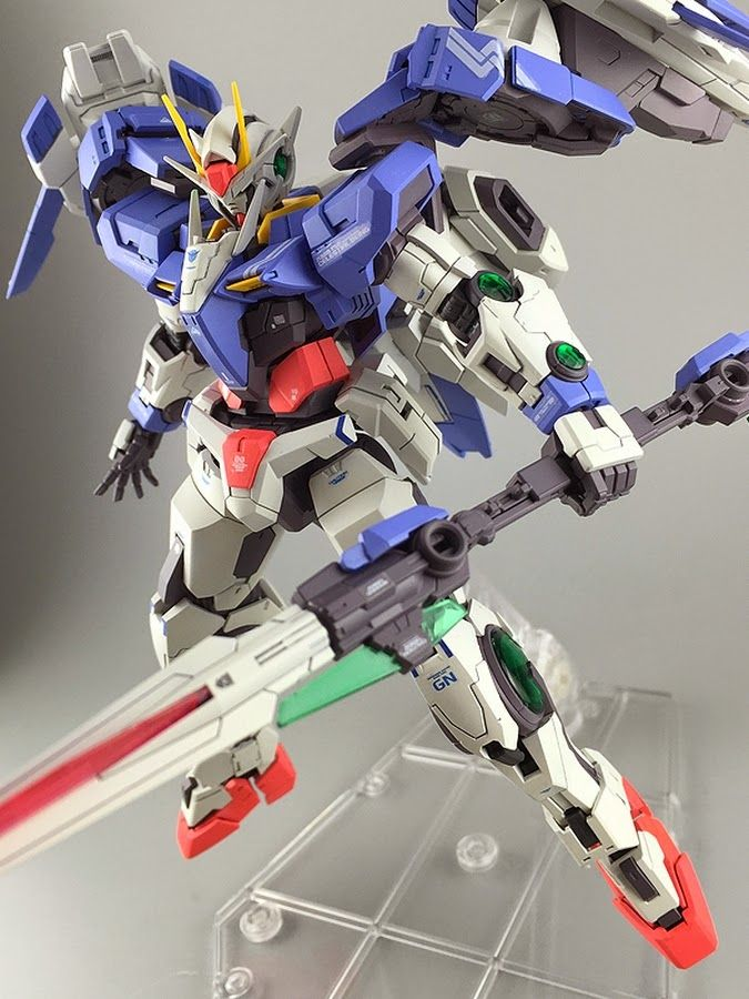 "Painted Build: RG 1/144 00 Raiser ""Detailed"" - Gundam Kits Collection News and Reviews"