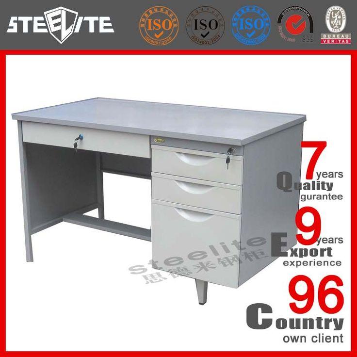 Metallic art furniture steel cheap office desk in stock