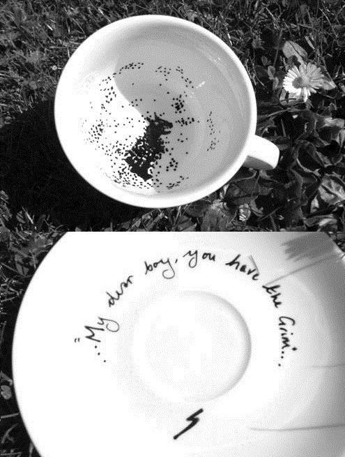 The Grim tea cup. WAAAANT.