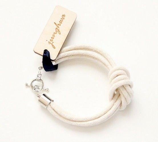 .Accessories Ideas, Crafts Ideas, Ropes Bracelets, The Knots, Knots Bracelets, Diy Gift, Bracelets Collection, Knot Bracelets, Leather Bracelets