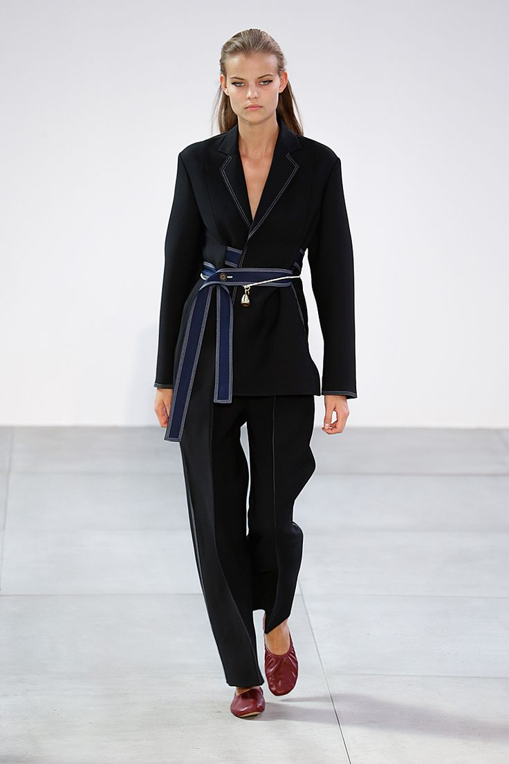 Trends: Waist Details, Celine // Spring fashion 2015: 186 photos of the top 10 trends of the season http://www.fashionmagazine.com/fashion/trends-fashion/2014/10/09/top-spring-2015-trends/