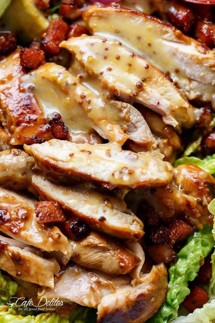 Honey mustard salad dressing chicken recipes