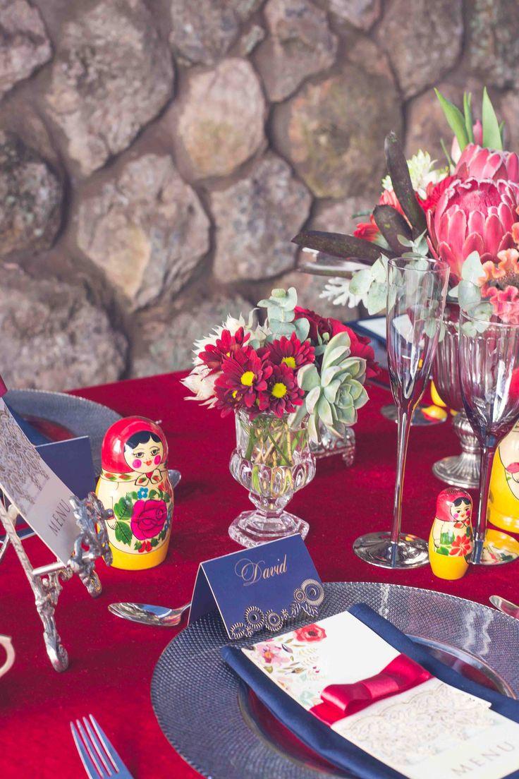 A very decorative table setting Photo: Kusjka du Plessis