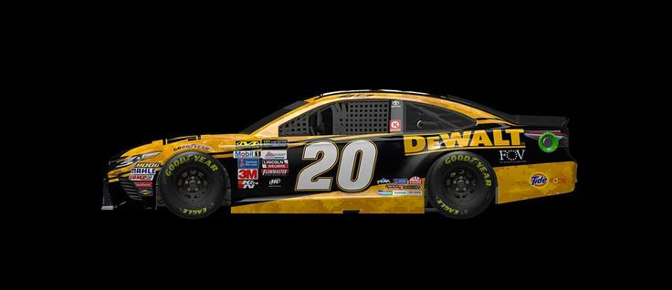 Paint Scheme Preview: Monster Energy All-Star Race Weekend  Wednesday, May 17, 2017  Matt Kenseth will drive the No. 20 DeWalt Wounded Warriors Project Toyota     Photo: 10 / 25