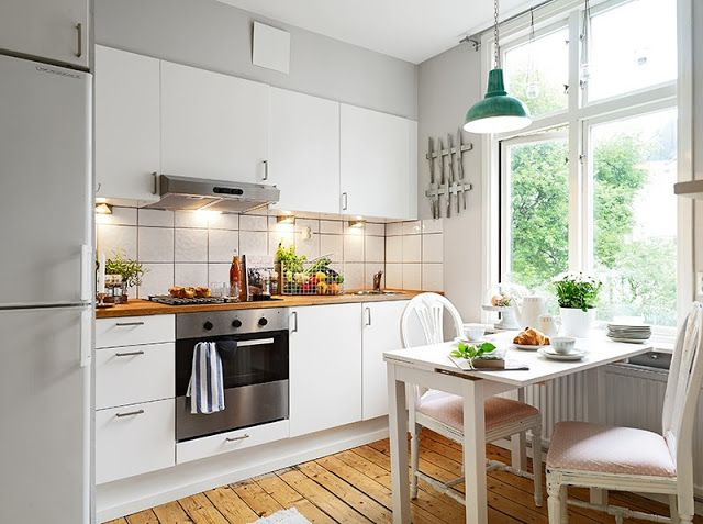 1000 ideas about small kitchen diner on pinterest for Small victorian kitchen designs