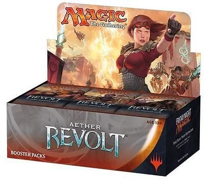 Toys And Games: Aether Revolt Booster Box Sealed Mtg Magic The Gathering BUY IT NOW ONLY: $90.0