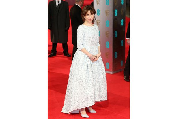 Sally Hawkins con Mulberry
