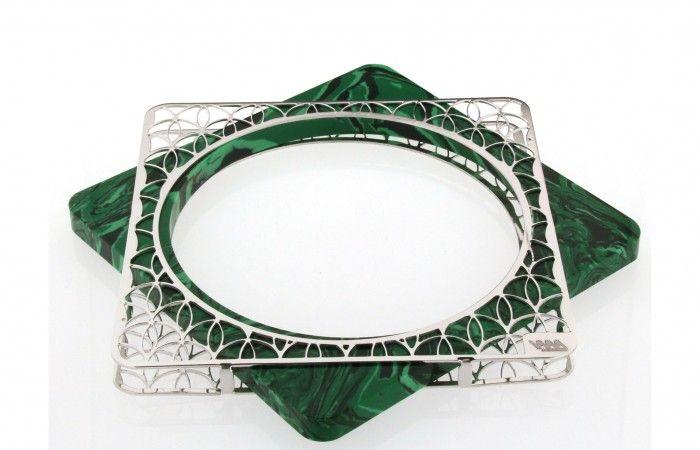 Scicche: cercare, scoprire, promuovere e vendere oggetti di design. Fit the Kit silver bracelet.