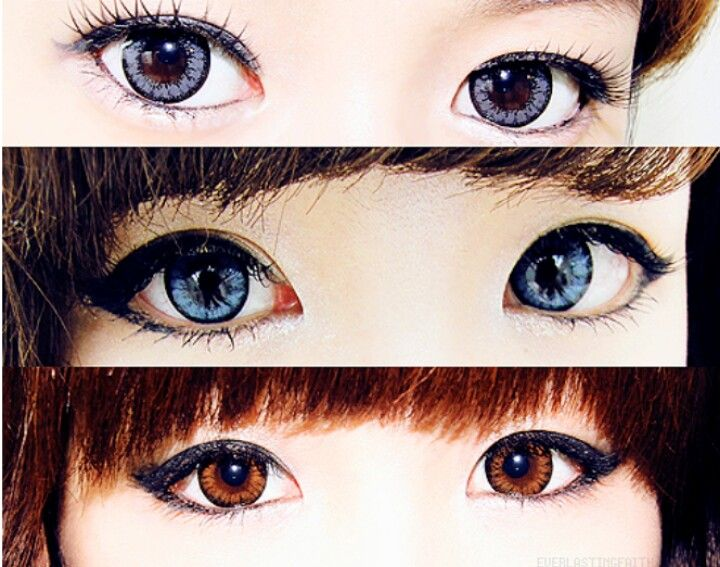 Japanese Contacts Lenses Doll Eyes