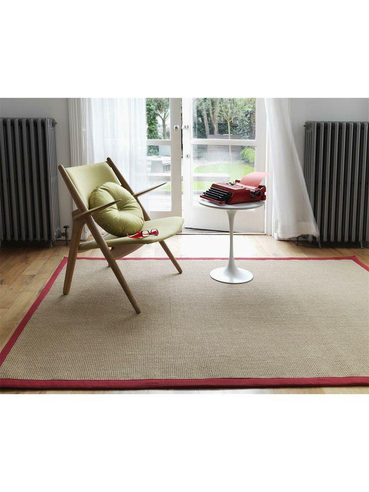http://www.benuta.de/teppich-sisal-rot-3-2.html  Für mehr Natürlichkeit - unsere Sisal Teppiche bringen ein Stück Natur zu Ihnen nach Hause. Die Teppiche sind aus 100% Sisal gewebt und garantieren neben einem absolut zeitlosen Design ein besonders dauerhaftes und pflegeleichtes Produkt mit hoher Wohnlichkeit.
