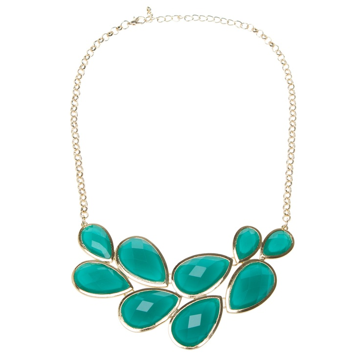 I wore this to meeting today and got so many compliments.: Statement Necklaces, Clothing Accessories, Teardrop Jewelry, So Pretty, Fashion Jewelry, Cute Necklaces, Style Me Pretty, Chunky Necklaces, Bibs Necklaces