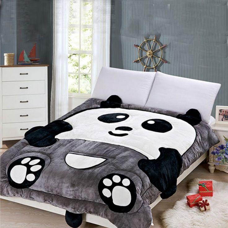Amazoncom Alicemall Panda Comforter Cute Warm Keeping