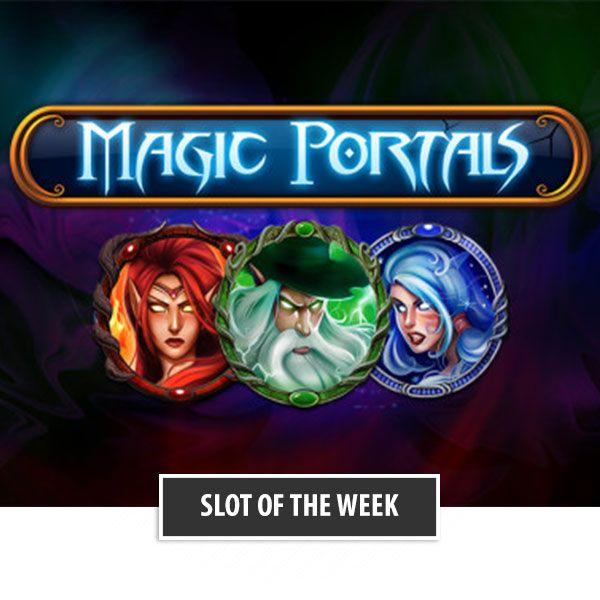 The slot of this week is Magic Portals.  Make a deposit (min. €20) today and receive 20 Free Spins tomorrow!  http://parasino.com/en/games