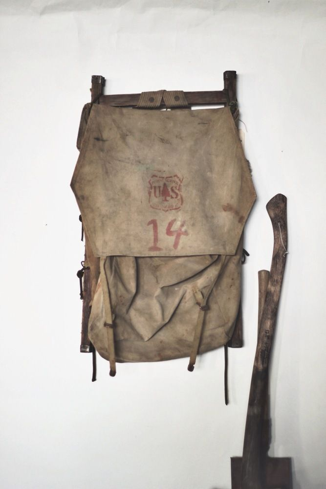 Vintage 1920'S - 30'S UNITED STATES FORESTRY PACK