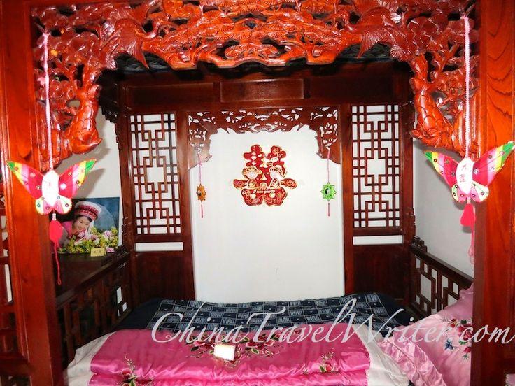 A Dali wedding bed.