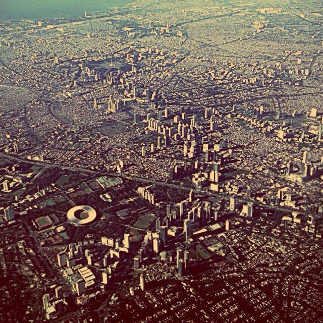 City Plus! Jakarta City Viewed from the sky. Jakarta, Indonesia.