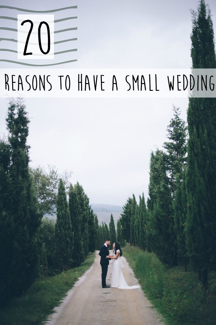 20 Reasons to Have a Small Wedding #17: Your photographer will love you. True. - Heather (who's not saying there's anything wrong with big weddings, either).